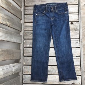 AEO Artist Crop Stretch Jeans